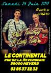 "24 juin 2017 Phil Twangy & Long Tom à Nevers ""le Continental"""