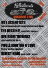 "7 mai 2017 Reject Head (annulé), Poule Mouton n'cow, Delirium Tremens, The Decline!, Not Scientists aux Brouzils ""Salle Pastourelle"""