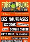 19 aout 2017 The God Michel's, Dirty Rodeo, Double Cheese, Escobar, Les Naufragés à Saint Symphorien