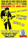 """21 juin 2017 Johnny Boy Kleps, Phil Twangy & Long Tom, Brigitte Bop à Orléans """"Blue Devils"""""""