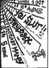 """1er octobre 2012 Ethylosex, You Slut! à Orléans """"5eme Avenue"""""""