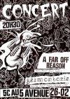 """26 fevrier 2013 Garmonbozia, A Far Off Reason, NW à Orléans """"5eme Avenue"""""""