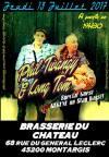 """13 juillet 2017 Phil Twanguy & Long Tom à Montargis """"Brasserie du Chateau"""""""