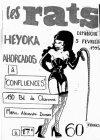 "5 février 1995 Les Rats, Heyoka, Ahorcados à Paris ""Confluences"""