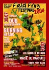 30 juillet 2004 Shaady, Dub Incorporation, Burning heads + Alif sound system à Vernioz