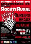"4 aout 2018 Burning Heads, The Decline !, Working Class Zero, Nagual X à Chavroches ""Stade"""