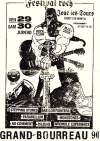 29 et 30 Juin 1990 Stepping Stones, Babylon  Fighters, Parabellum, Monotones, No Comment, Dileurs, Wromble Experience à Joué les Tours