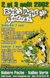 3 aout 2002 Les Fils de Teuhpu, Big Soul, Dionysos, Mei Tei Sho à Habere Poche