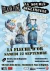 """22 septembre 2012 le Pelican Frisé, La Souris Déglinguée à Paris """"la Fleche d'Or"""""""