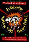 """26 septembre 2014 Strychnine, Human Toys, Bacon Fudge à Saint Ouen """"le Picolo"""""""