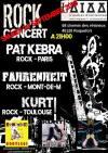 "29 septembre 2018 Pat Kebra, Fahrenheit, Kurt à Roquefort ""AIAA"""