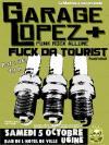 """5 octobre 2013 Garage Lopez, Fuck Da Tourists à Ugine """"Bar de l'Hotel de Ville"""""""