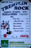 "30 avril 1988 Cob Web, New Options, Dead Babies, Marauders, Black Leather, Stupid Shooz à Yvetot ""Palais des Vikings"""