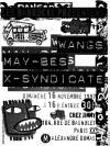 "16 novembre 1997 X Syndicate, May Bees, Wangs à Paris ""chez Jimmy"""