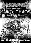 """23 novembre 2006 Anarchophobia, Tanker Chaos à Besancon """"les Arcades"""""""