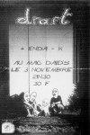 """3 novembre ???? Draft, Enda K au Havre """"Mc Daid's"""""""