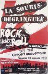 """23 janvier 2010 La Souris Deglinguée, The Monster Klub à Paris """"Bataclan"""""""