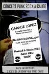 """6 fevrier 2015 Garage Lopez, Taiwan Bungalow à Cauge """"Bar a la Bon'heure"""""""