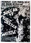 """1er mars 1992 (?) Judge AK 47, Pilouz Dexter à Paris """"Visions du Volcan"""""""