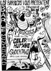 """24 mars 1996 (?) Melocoton, Color Humano, Shocktaws à Paris """"Bar le Montagnard"""""""