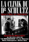 """24 mars 2007 La Clinik du Dr Schultz à Montreuil """"la Renaissance"""""""