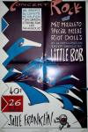 "26 avril 1991 Miss Mosquito, Special Needs, Riot Dolls, Little Bob au Havre ""Salle Franklin"""