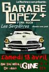 """18 avril 2015 Garage Lopez, Les Serpillieres à Ugine """"Bar de l'Hôtel de Ville"""""""