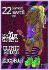 """22 avril 2017 The Shady Greys, Clinic Rodeo, Escobar à Paris """"Olympic"""""""