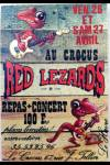 "27 avril ? Red Lezards au Havre ""le Crocus"""