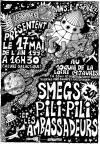 17 mai 1992 Smegs, Pili Pili, les Ambassadeurs à Paris