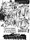 """7 mai 1995 Grimskunk, Baron du Delire à Saint Ouen """"Bar des Colonnes"""""""
