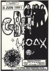 """6 juin 1991 GBH, Hoax à Paris """"Espace Ornano"""""""