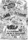 """25 juin 2005 The Rockers Fuckers, La Fissure, Cheveu, Subtle Turnhips, Creteens à Paris """"la Miroiterie"""""""