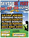 6 juin 2014 Burning Heads, Flying Donuts, Sons Of Buddha, Napoleon Solo, Tous en Tong DJ Crew à Seyssuel