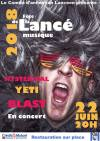 22 juin 2018 Hysterical, Yeti, Blast à Lancé