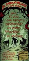 """5 juillet 2008 Mao, El Vicio, Sonic Chicken 4, Bulgarian Yogurt, Les Pénibles, Bop Pop Killer, Les Soussoupes à Montreuil """"Rock Brown"""""""