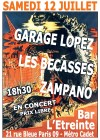 """12 juillet 2008 Garage Lopez, les Becasses, Zampano à Paris """"L'Etreinte"""""""