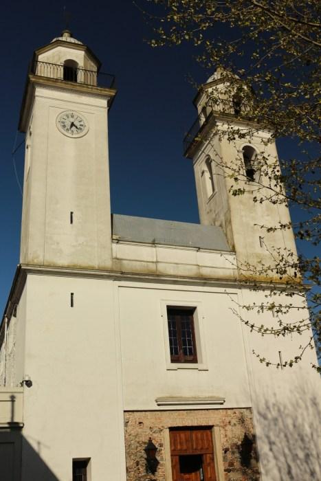 Iglesia Matriz, la première église du pays, construite en 1680 puis souvent reconstruite