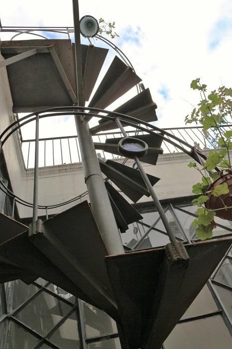 l'escalier... ça se mérite!