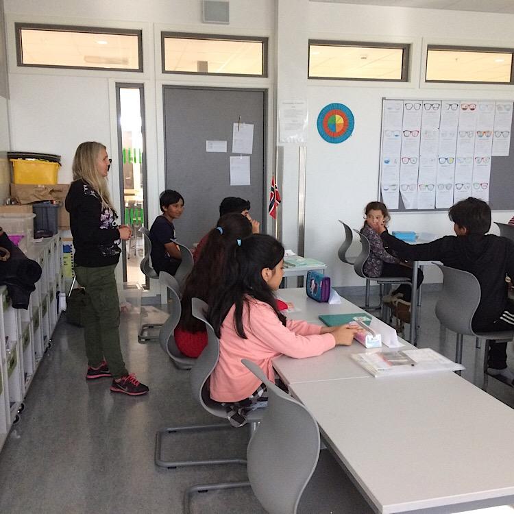 Les cours spécialisés sont également accompagnés par une assistance à l'enseignant