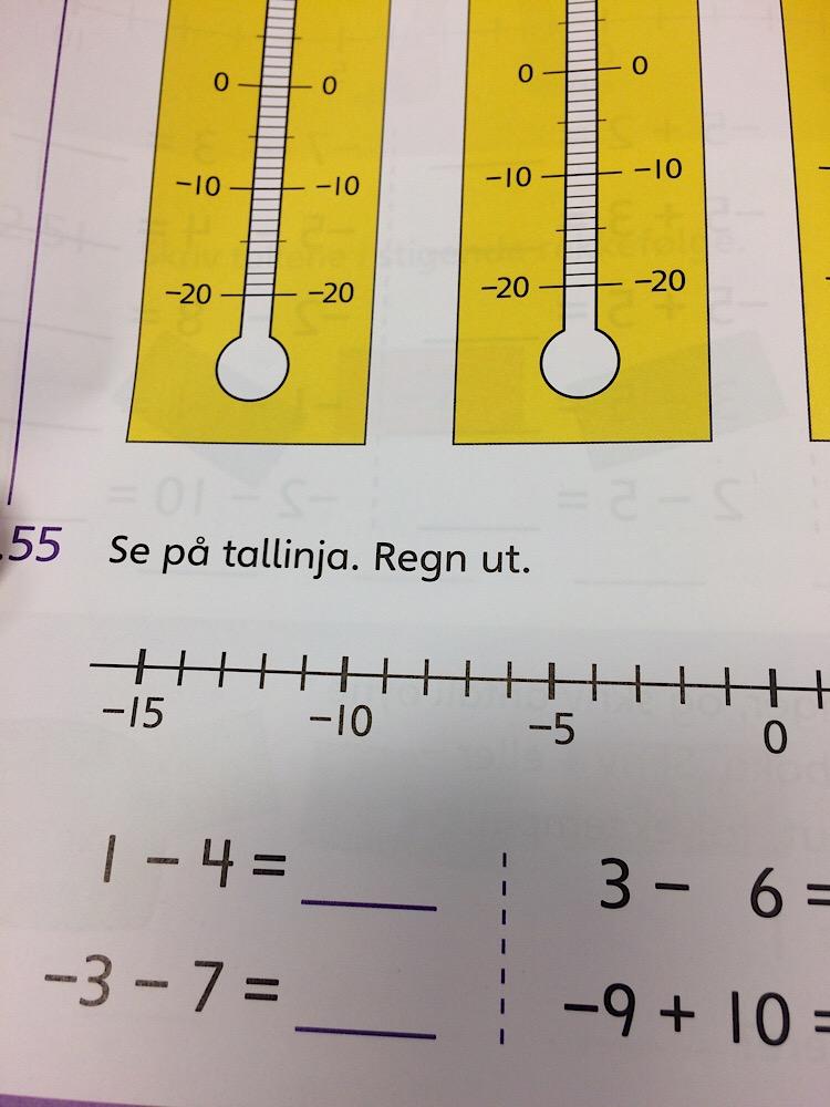 Le Travail scolaire en Norvège
