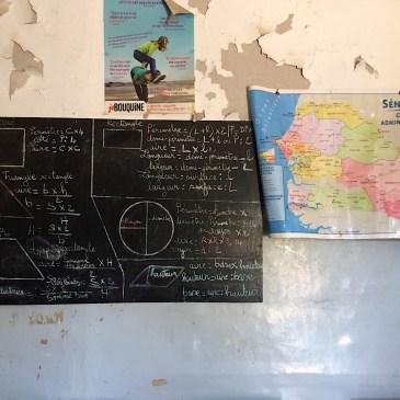 Le travail scolaire au Sénégal