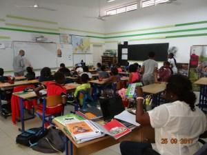 Salle de classe CM2 Saly Sénégal