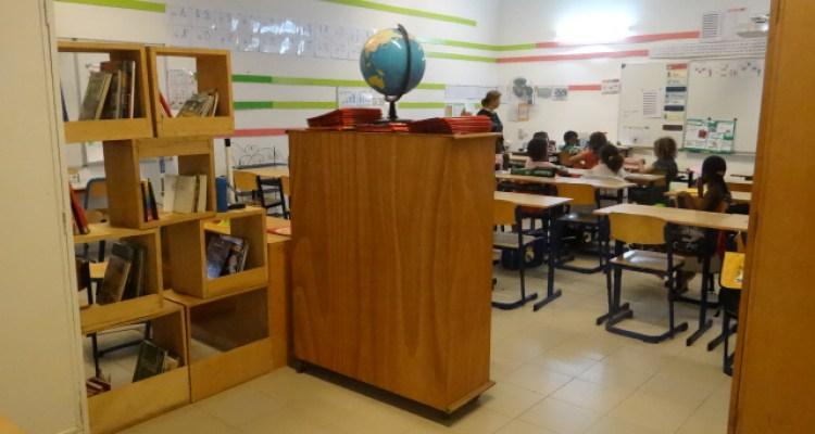 Salle de classe CE2  école Prévert - Saly - Sénégal
