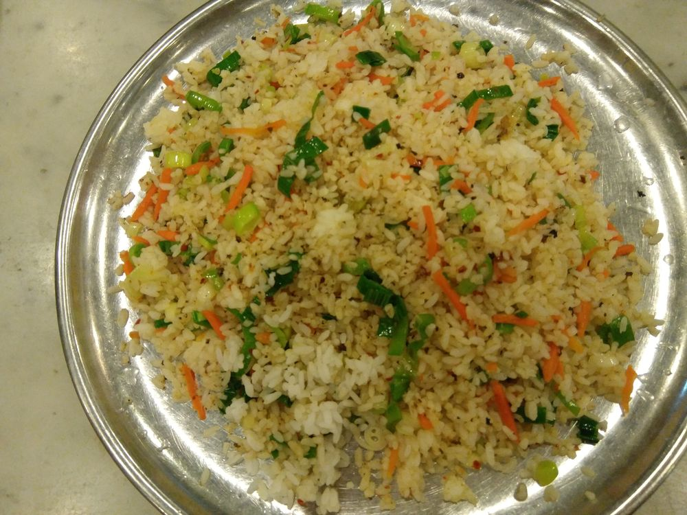 Manger au Sri Lanka - Fried rice