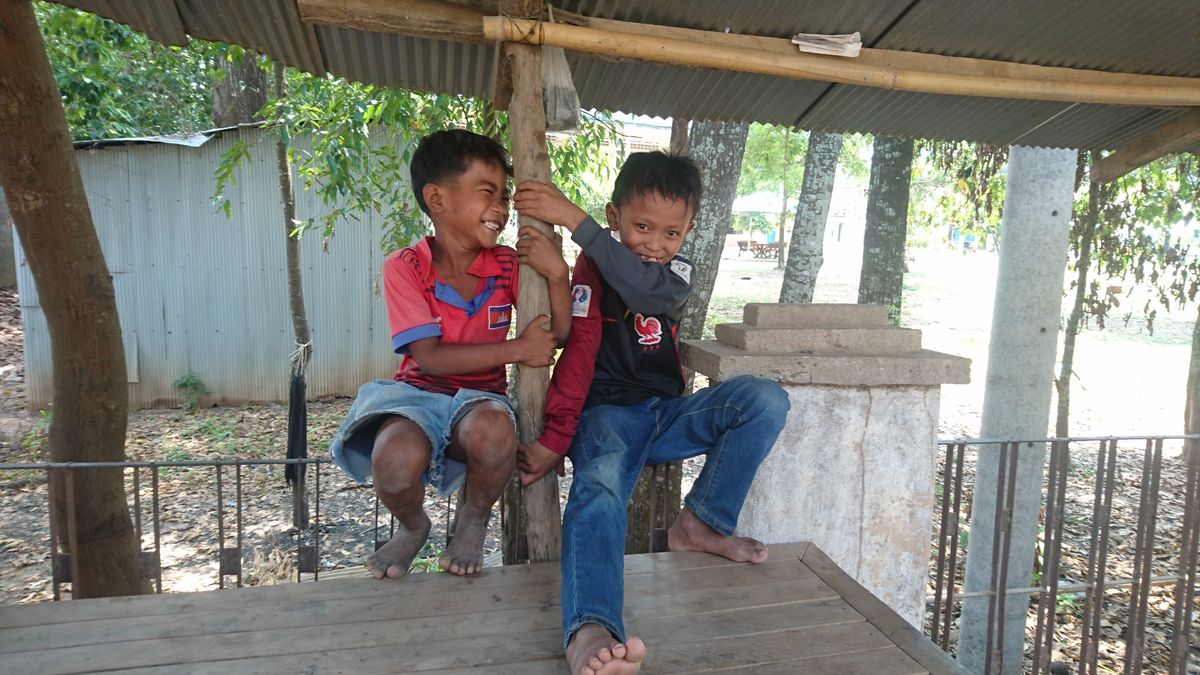 fun facts sur le Cambodge - Enfants Cabodgiens