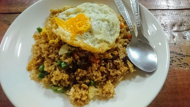 Fried rice au Laos