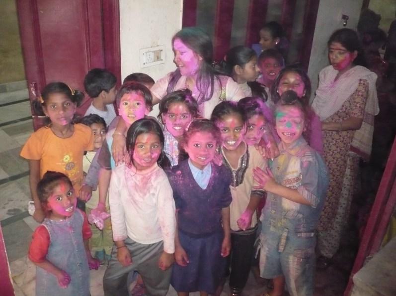 A l'association Enfance Indienne