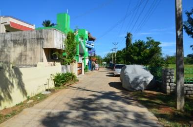 Rues de Mahabalipuram, Inde