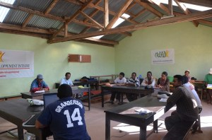 Formation organisée au centre PATRAKALA le 3 décembre 2014 pour les apiculteurs sur le thème des arbres fruitiers